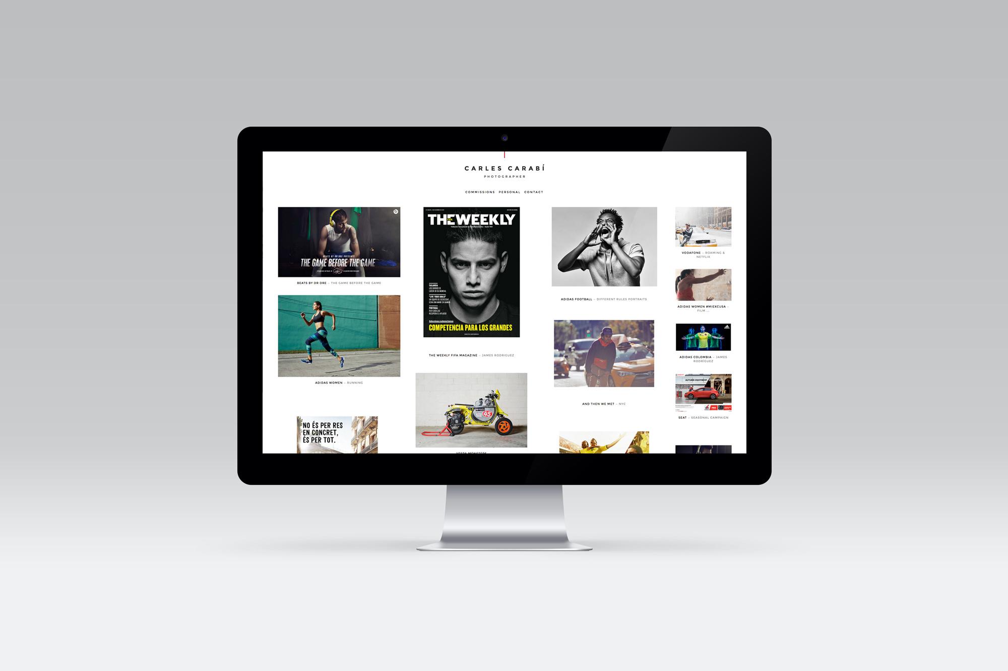 Web fotografía