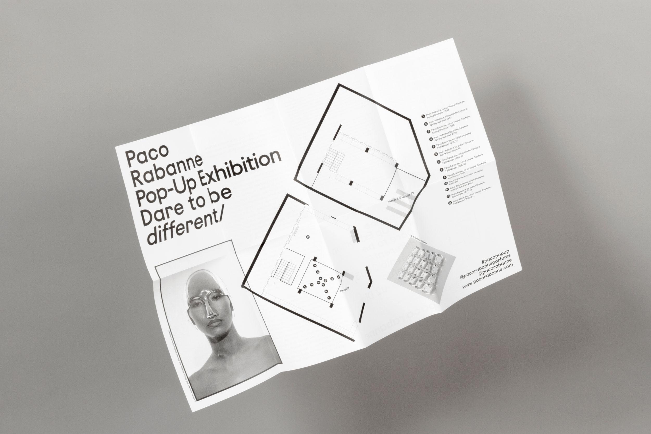 Paco Rabanne Exhibition noreste studio