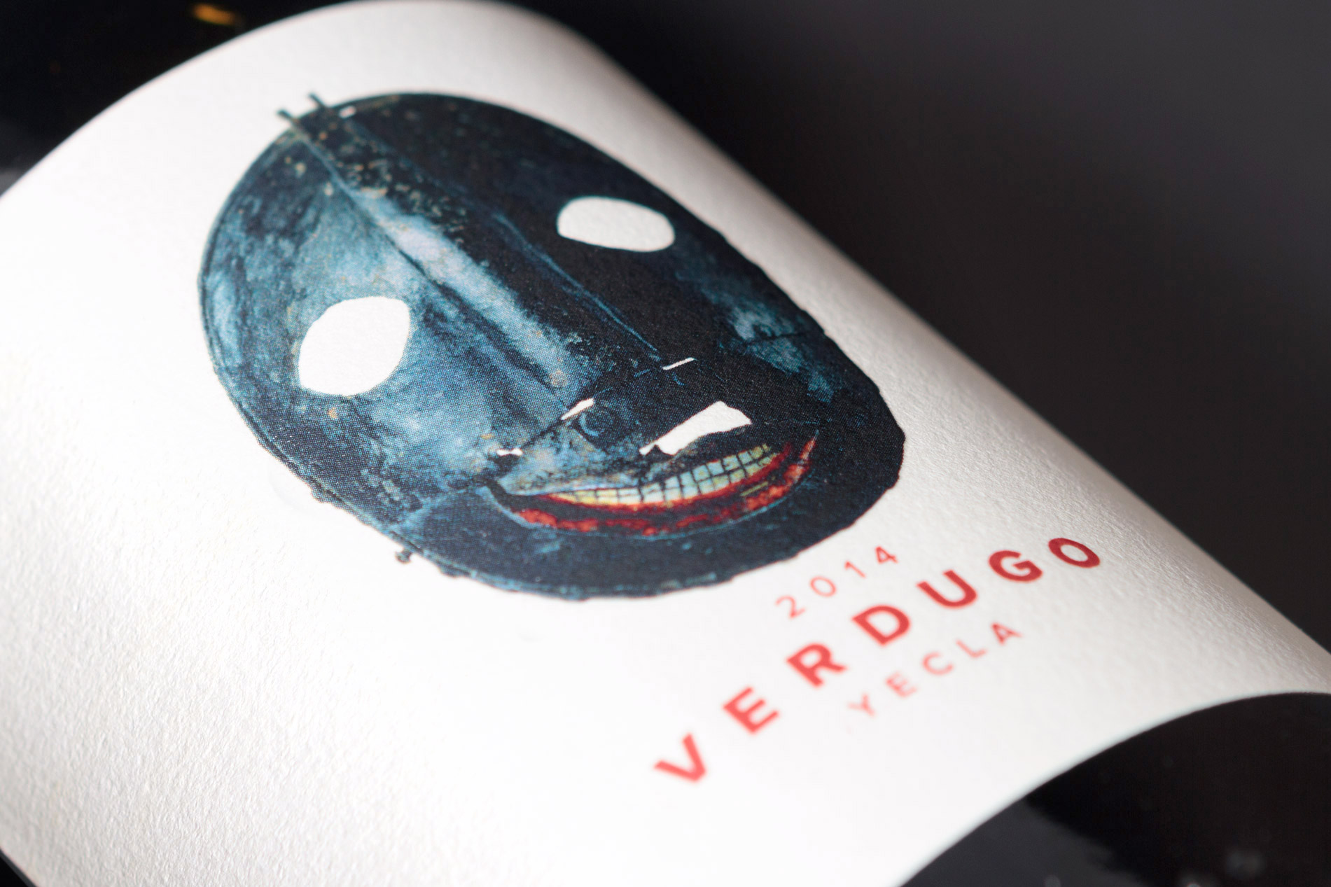 Textura etiqueta de vino