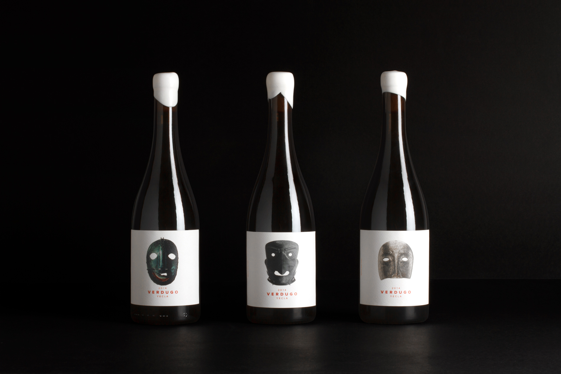 Packaging botella de vino tinto