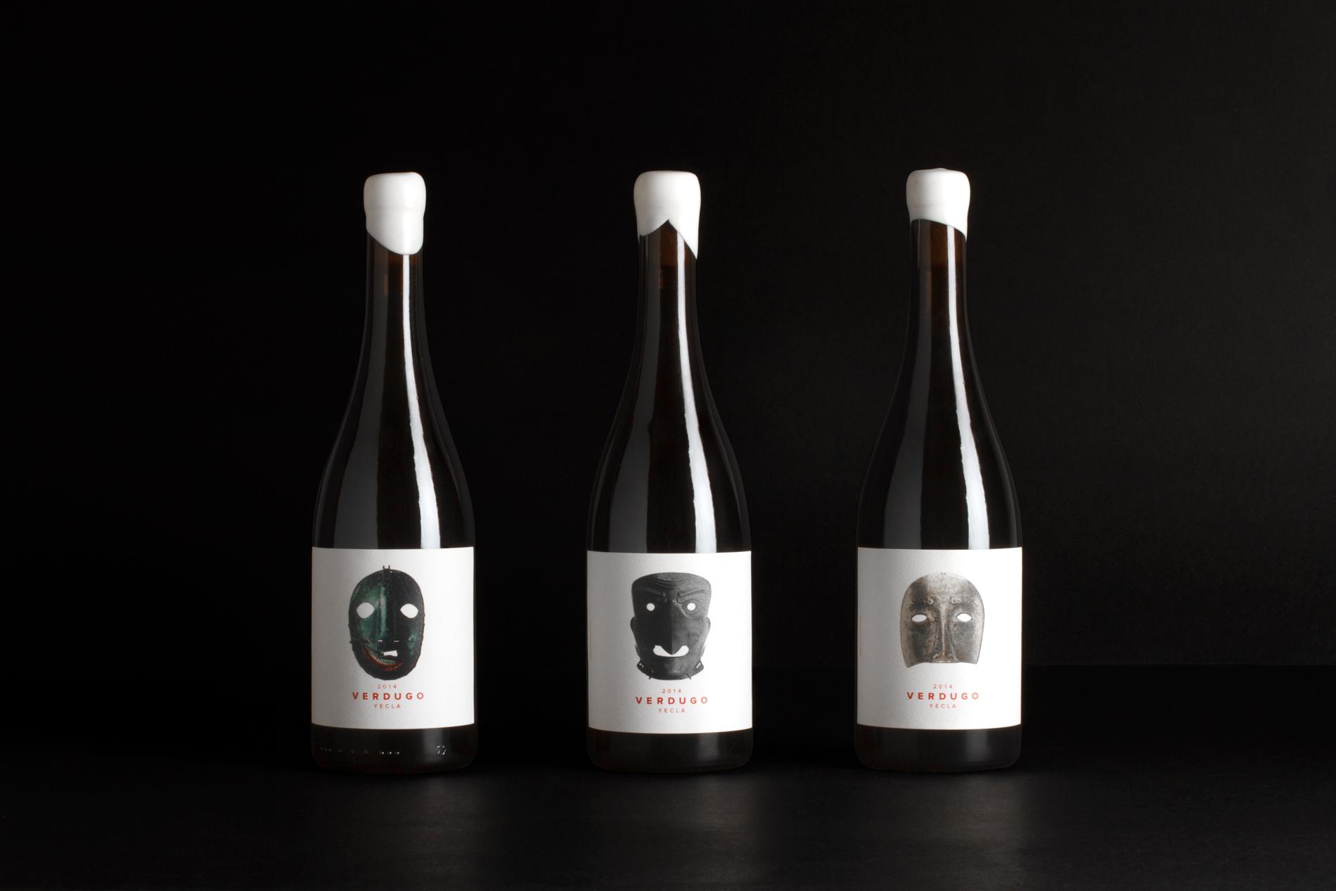 Diseño de etiquetas de Botellas de vino