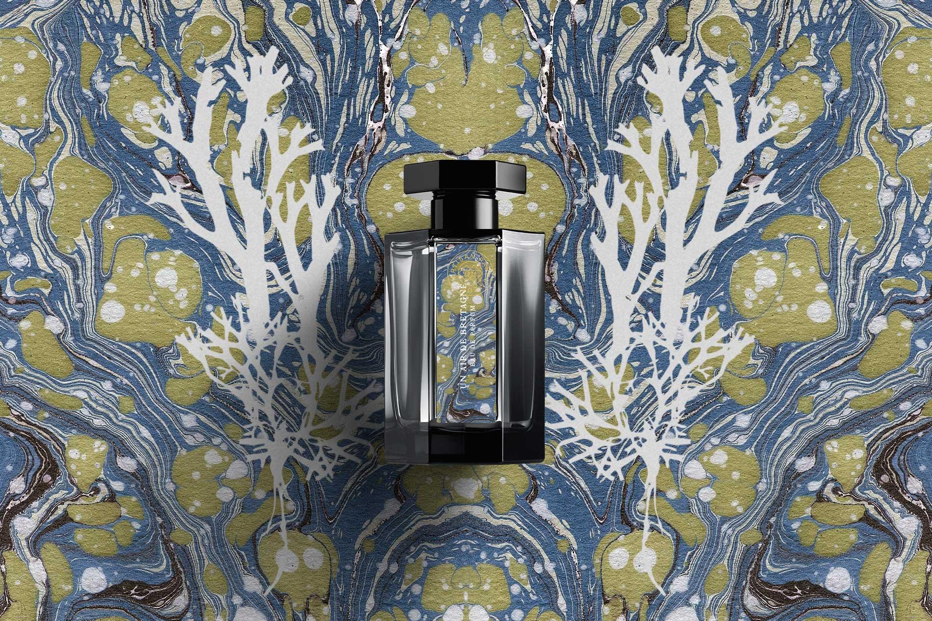 Les Paysages pefume label design