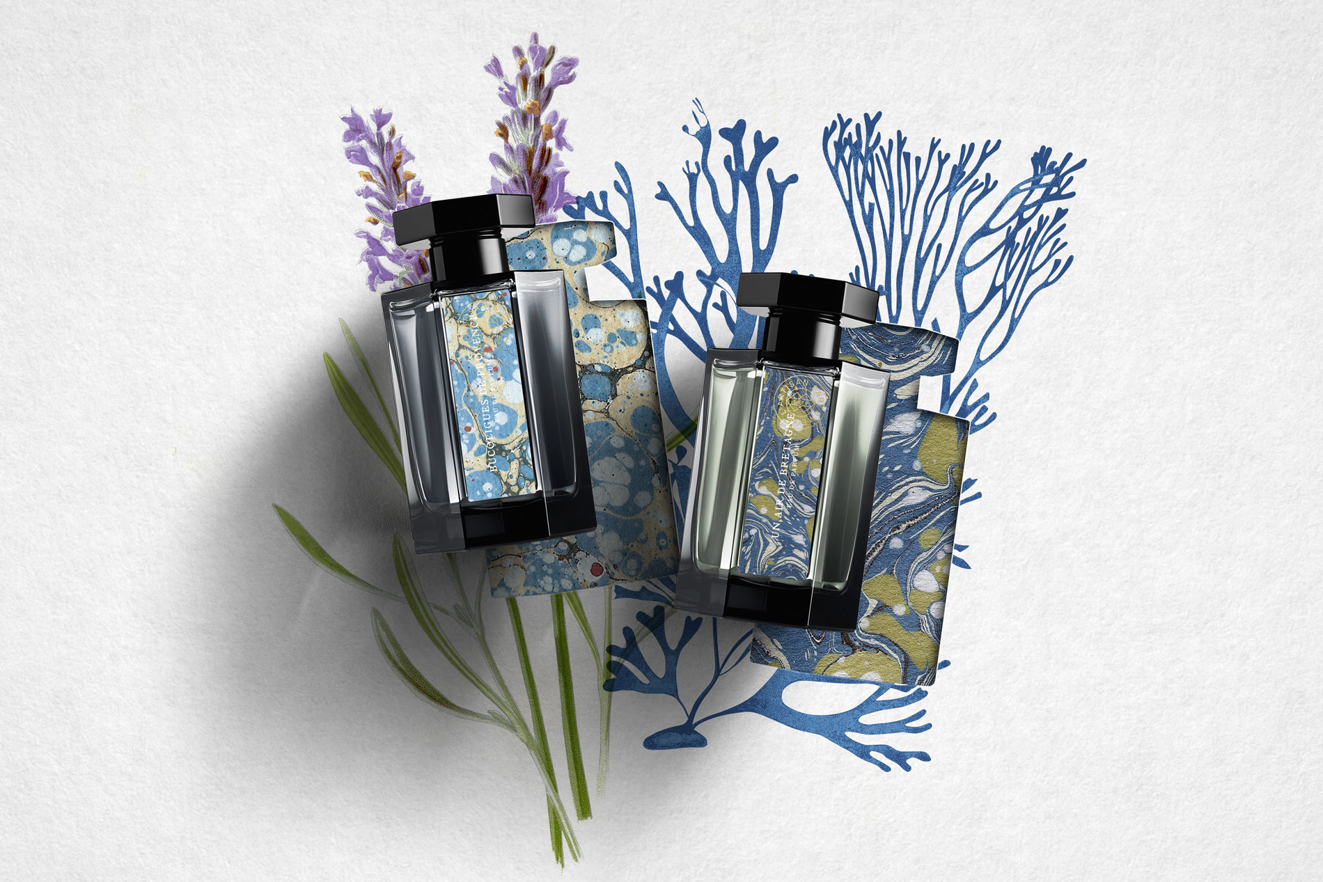 L'artisan Parfumeur Packaging Design