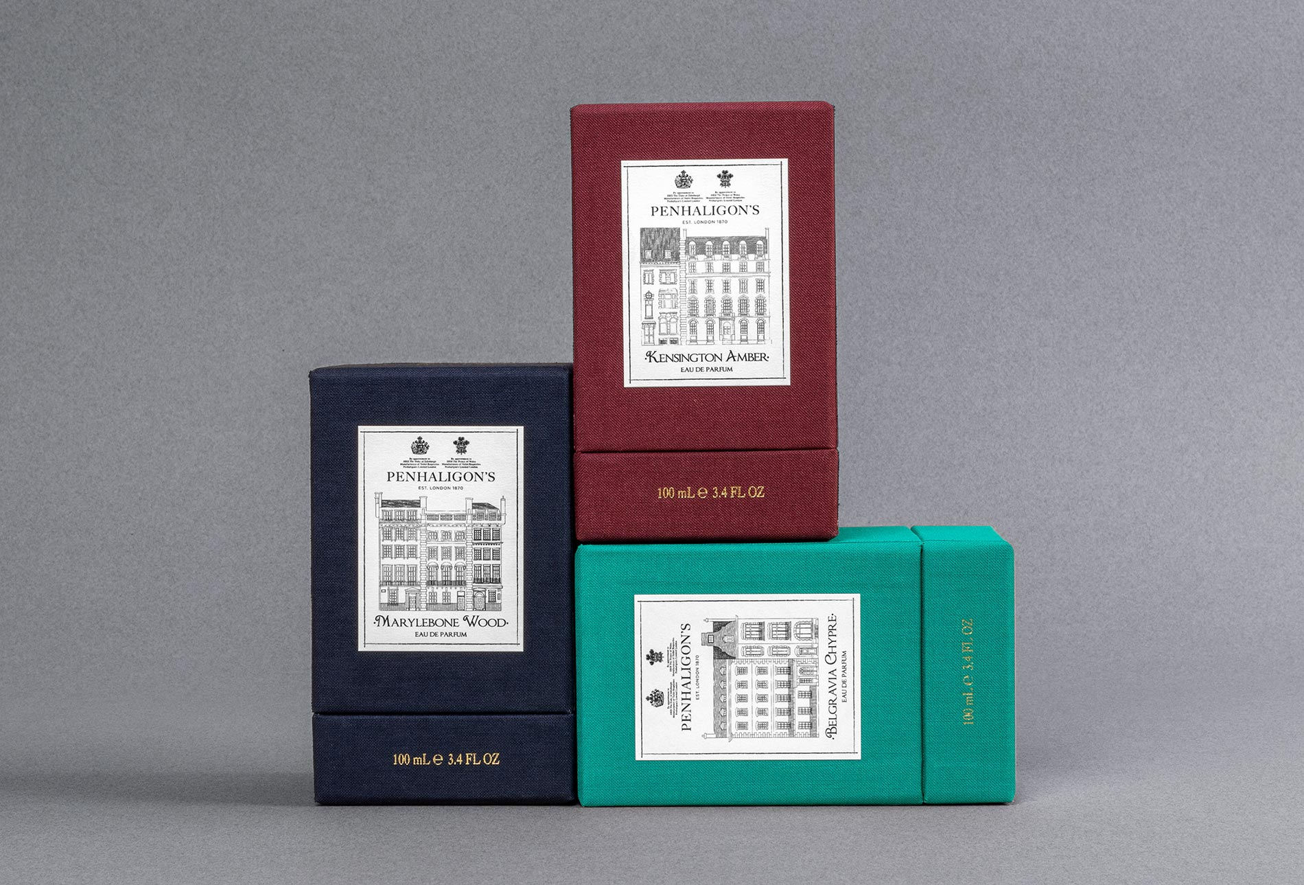 Penhaligon's Packaging Design