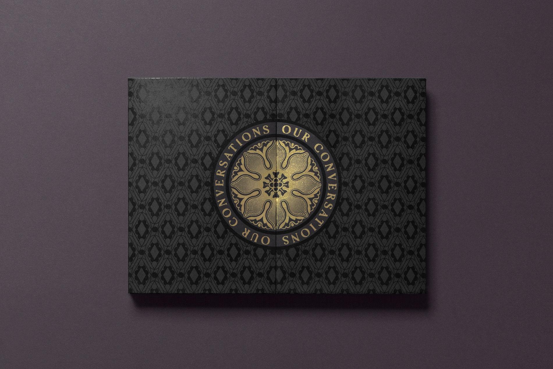 Diseño de patrones y ornamentos medievales