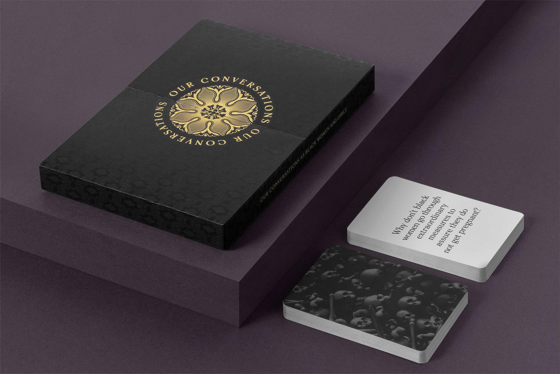 Diseño gráfico juego de cartas