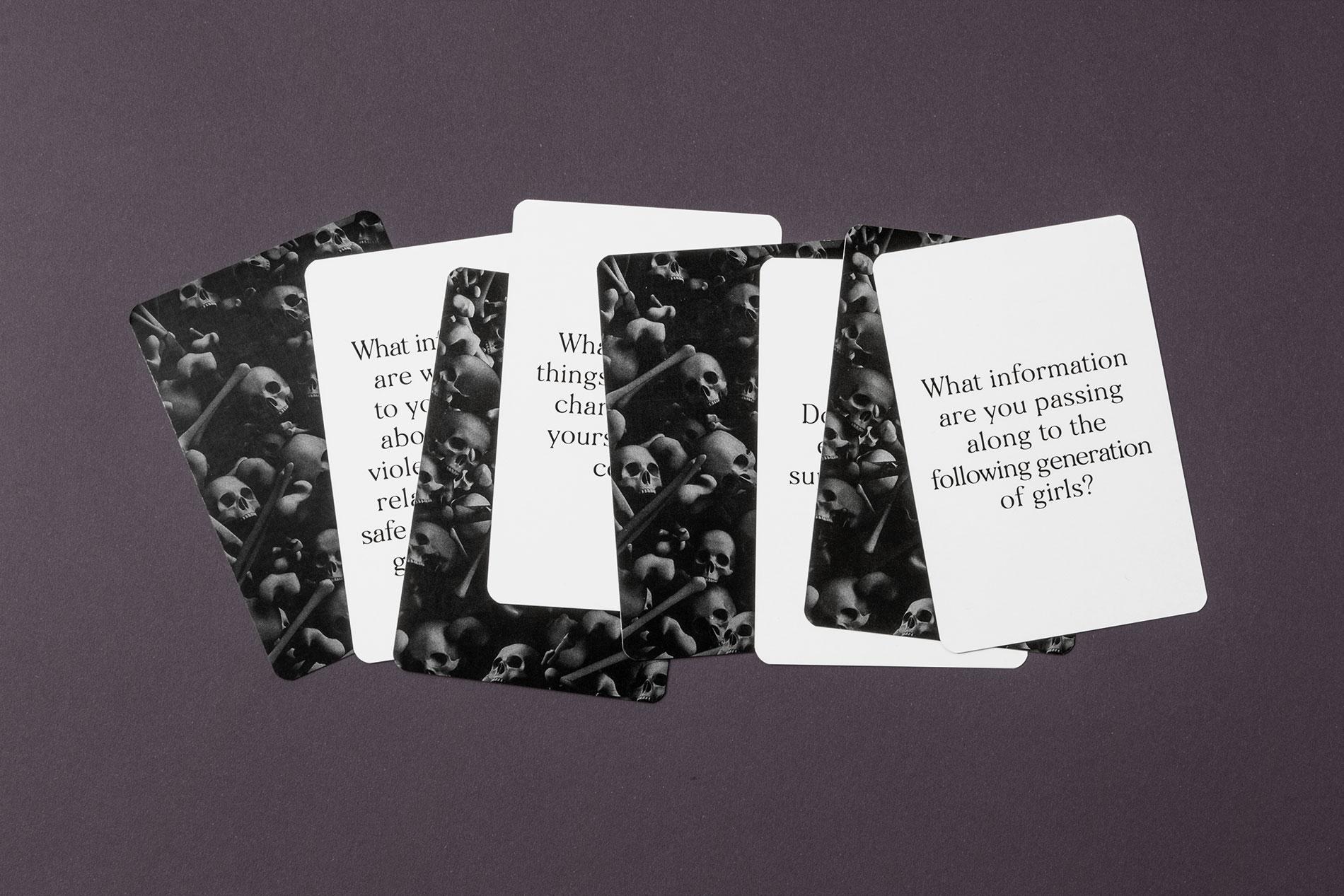 Diseño Cartas de preguntas
