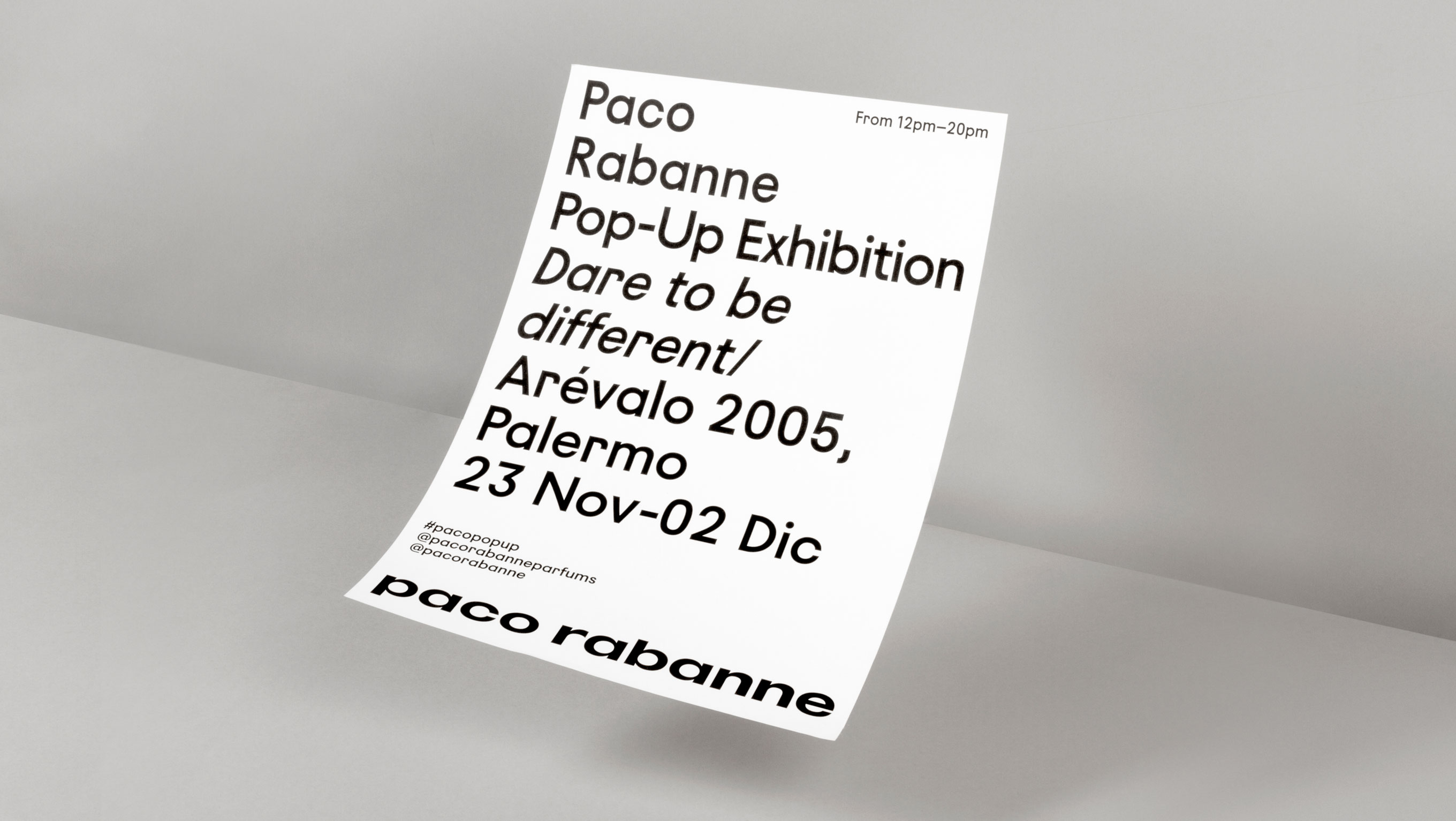 Paco Rabanne art direction design