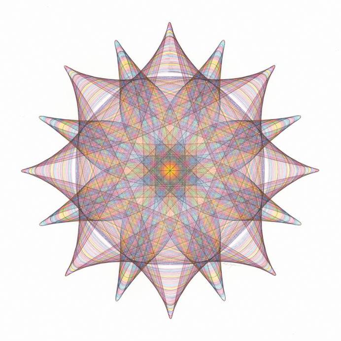 Spirograph figura