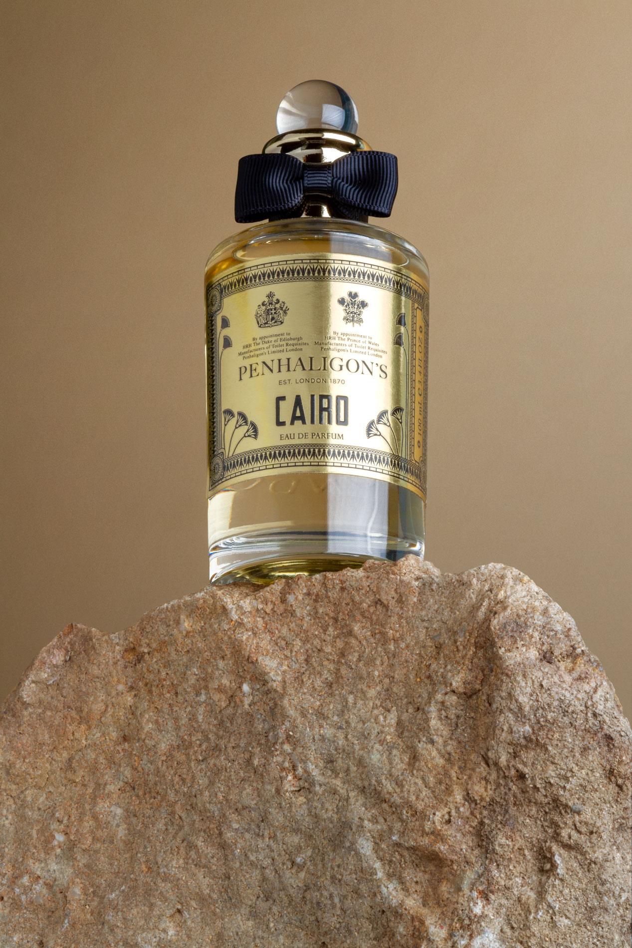 Diseño etiqueta perfume Penhaligon's