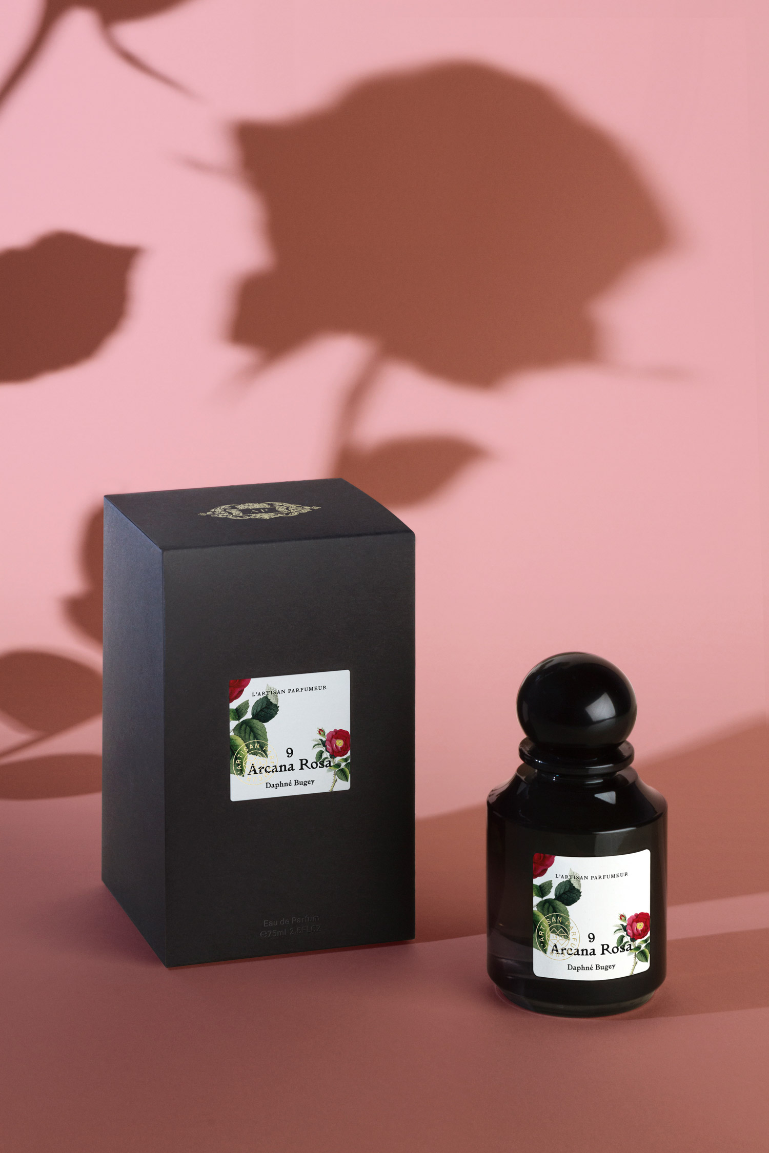 Arcana Rosa - La Botanique packaging design