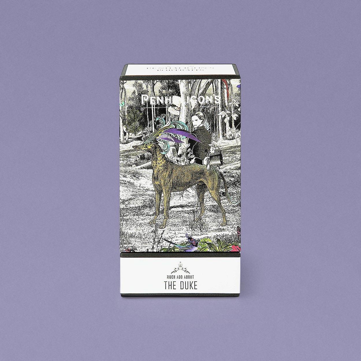 Portraits - The Duke packaging design
