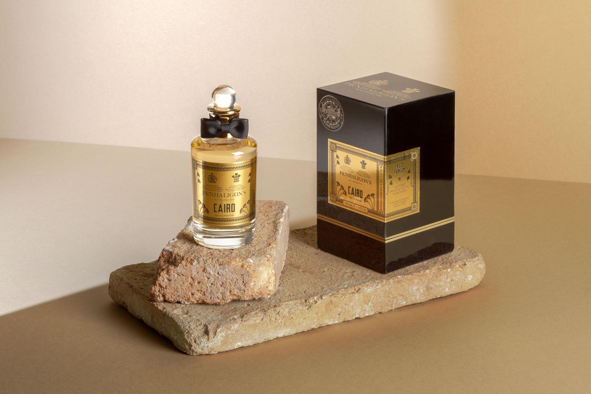 Penhaligon's Cairo packaging design